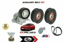 FOR KIA PRO CEED 1.6TD 2008-> NEW AUXILIARY FAN BELT TENSIONER BEARING IDLER KIT
