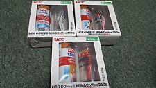 Neon Genesis Evangelion- UCC Coffee Figures- set of 3- Kotobukiya-Japan Import