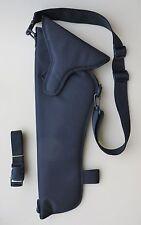"""Scoped Shoulder Holster for CVA OPTIMA 50 CAL 14"""" BARREL BLACK COLOR"""