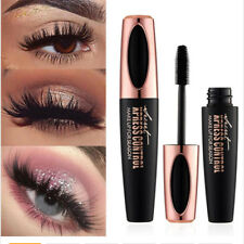 New! 4D Silk Fiber Eyelash Mascara Extension Makeup Black Waterproof Eye Lashes