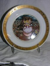 1975 The Shepherdess and the Chimney Sweep Royal Copenhagen Plate