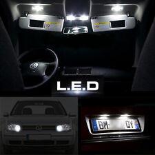 Kit ampoules à LED pour l'éclairage complet intérieur veilleuses plaque Golf 4
