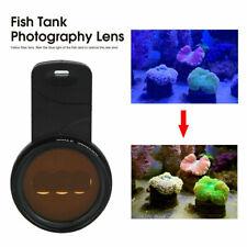 Color Amendment Focus Sea Aquarium Fish Tank Clip On Phone Camera Filters Lens