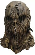 Scare the Crows Evil Scarecrow Haunted Hayride Halloween Creepy  Adult Mask