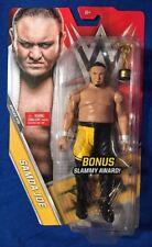WWE Samoa Joe Basic Series 70 Figure With Slammy