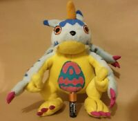Digimon Gabumon Vintage RARE 1999 Plush Soft Toy
