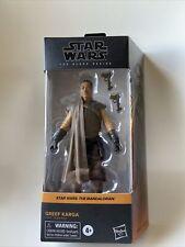"Star Wars Black Series Greef Karga #06 Mandalorian 6"" Action Figure NEW in Hand"