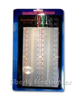 NEW SOLDERLESS BREADBOARD Protoboard 4 buses Tie-point 1660