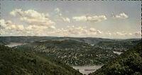 BOPPARD alte AK Vierseenblick vom Hunsrück um 1955 alte Postkarte Rhein-Region