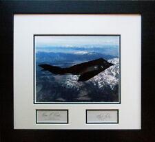 F-117 Nighthawk - with 2 Autographs of Ben Rich & F117 Test Pilot Hal Farley