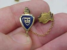 Awesome Drama Club Pin Lyre Gold Filled Actiing vintage Clown Mask Pin (16L1)