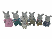 Calico Critters Sylvanian Families Babblebrook Rabbits Family Flair Epoch