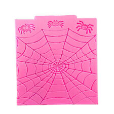 Halloween Spider Web Silicone Fondant Mould Cake Decorating Tool Chocolate Molds