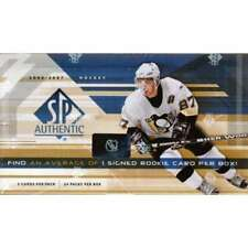 2006-07 Upper Deck SP Authentic Hockey Factory Sealed Hobby Box -3 Autos Per Box