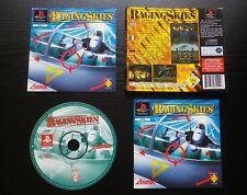 JEU Sony PLAYSTATION PS1 PS2 : RAGING SKIES (Asmik COMPLET envoi suivi)