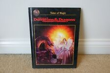 1991 TSR AD&D TOME OF MAGIC 2121 HARDCOVER BOOK // VERY CLEAN // VF/VF+