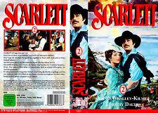"VHS - "" SCARLETT 2 ( Puntata 3 + 4 ) "" (1994) - Timothy Dalton"
