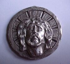 MEXICO 1953 .720 SILVER MEXICAN 5 PESO COIN EMBELLISHED JESUS CHRIST