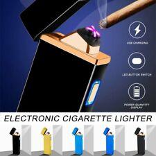 ARC Cigarette Chargeable Torch Plasma Electric Flameles USB Double PULSE LIGHTER