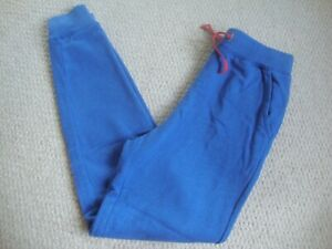 Mini Boden girl's blue joggers age 11 years