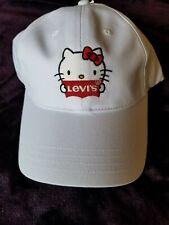 Sanrio Hello Kitty LEVI'S® Cap  White Limited Edition Brand New w Tag