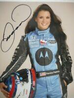 Danica Patrick signed 2007 #7 MOTOROLA HONDA INDY 500 INDY 8x10 Photo W/COA