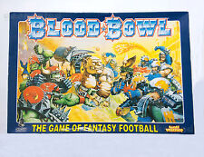 Blood Bowl 4th Edition Fantasy Football Board Game [non perforé!!!]