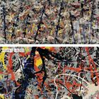 """64W""""x27H"""" BLUE POLES NUMBER 11 1952 by JACKSON POLLOCK - SPLAT CHOICES of CANVAS"""
