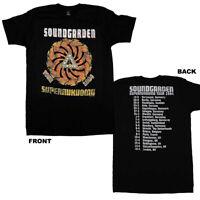 SOUNDGARDEN T-Shirt Superunknown 1994 Tour Distressed Tee w/ Dates