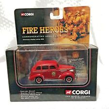 CORGI Chevrolet Fire Chief Car Fire Heroes Showcase Display CS90013 1:50 Diecast