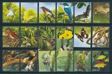 [75171] Palau 1989 Flora Fauna Marine Life Birds Butterflies From Sheet MNH