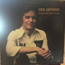 Rare Vintage Vinyl LP - Ken Medema - Through The Eyes Of Love