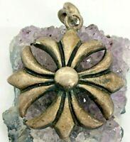 Vintage Sterling Silver Maltese Cross Pendant 13.3 Grams