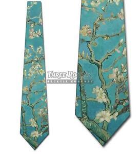 Van Gogh Ties Mens Art Neckties Floral Tie