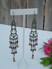 Hanging Chandelier Earrings Classic Vintage Style Dangle Jewelry