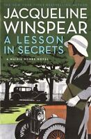 Maisie Dobbs: A Lesson in Secrets 8 by Jacqueline Winspear (2011, Hardcover)