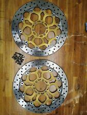 DUCATI 2000 MONSTER S4 916 Brembo Front Brake Disks & Bolts