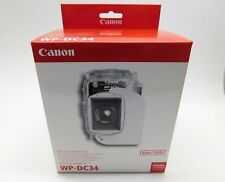 Canon WP-DC34 NEW in Box Underwater  Waterproof Camera Case 40m/130 ft - G11 G12