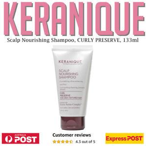 KERANIQUE Scalp Stimulating Keratin Shampoo 133 ml 4.5 oz CURL PRESERVE AU STOCK