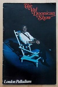 The Val Doonican Show programme London Palladium theatre ~1970 Moira Anderson