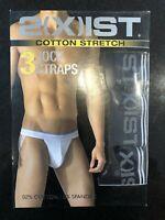 2-xist Jock Strap BNIB 3 Pack  UK Seller BRAND NEW boxed Genuine BLACK