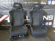08-15 MITSUBISHI LANCER RALLIART FRAME RAILS OEM RECARO FRONT SEATS EVO X