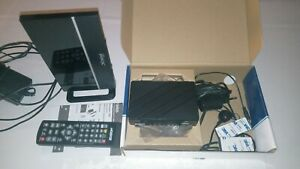 EDISION PROTON T265 Full HD Receiver plus DVBT2 Strong Antenne Guter Zustand