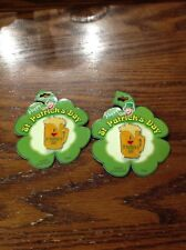 New Lot of 2 I Love St. Patrick's Day Beer Mug Hand Enameled Pin