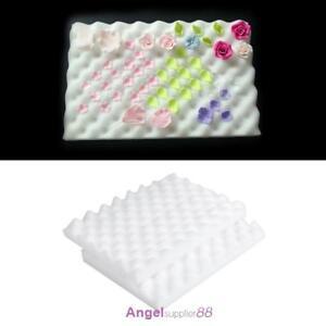 2× Fondant Cake Foam Pad Sponge Gum Paste Decorating Sugarcraft Flower Modelling