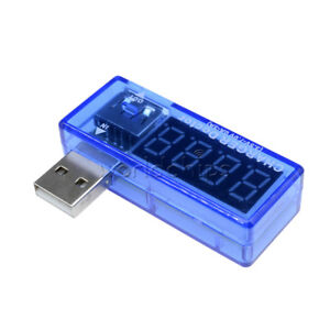 USB Charger Doctor Voltage Current Meter Mobile Battery Tester Power Detector WC