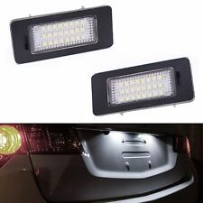 ECLAIRAGE PLAQUE LED VW PASSAT 3G B8 SHARAN 7N TIGUAN 1 TOUAREG 2 BLANC