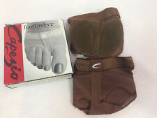 Capezio Lyrical Dance Foot Undeez Undies, Espresso, Sz XXL (14-15) New