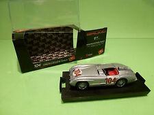 BRUMM S034 MERCEDES BENZ 300 SLR - RACE CAR 1955 - F1 SILVER GREY 1:43 - NMIB