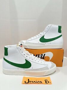 "Nike Blazer Mid 77 Vintage ""White Pine Green"" BQ6806-115 Men's Size 13 NEW"